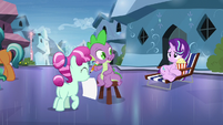 Spike --nervous about seeing Sunburst-- S6E1