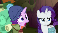 Starlight shocked by Applejack's words S8E13