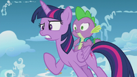"""Twilight """"that's not the same thing!"""" S5E25"""