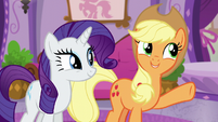 Applejack --after all the work we just did-- S6E10