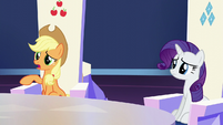 Applejack --not exactly clear on all the customs-- S6E1