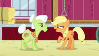 Applejack --when did you first fight the apple blight-- S6E23