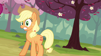 Applejack freaking out S2E14