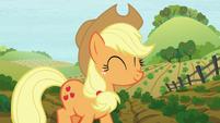 Applejack walking on the farm S8E12