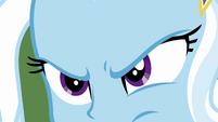 Close-up on Trixie Lulamoon's glare EGFF