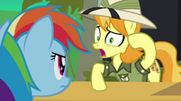 Daring Do collector calls orthros crazy S4E22