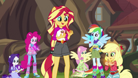 Equestria Girls acquire the magical geodes EG4