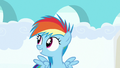Filly Rainbow Dash awaiting for the race results S7E7.png