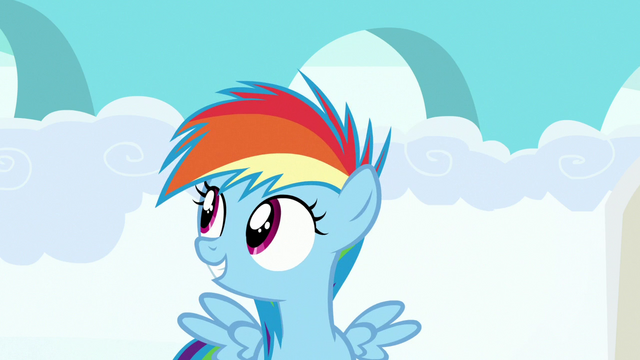 File:Filly Rainbow Dash awaiting for the race results S7E7.png