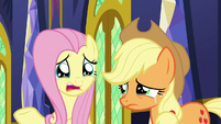 "Fluttershy ""what if we don't talk as much?"" S9E26"