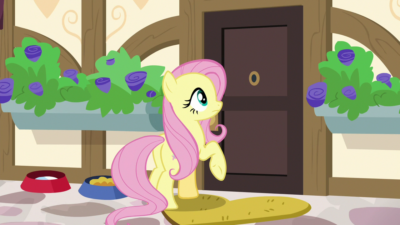 Fluttershy finds Dr. Faunau0027s door stuck S7E5.png : door stuck - pezcame.com