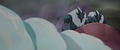 Grubber refusing to go down the waterfall MLPTM.png