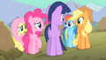 Main ponies whats Spike planning S01E19.png