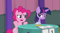 "Pinkie ""we could have negative points"" S9E16"