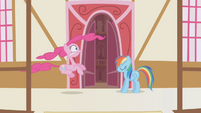 Pinkie Pie and Rainbow --all in good fun-- S1E5