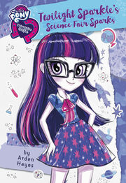Portada de Twilight Sparkle's Science Fair Sparks