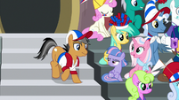 Quibble joins Sky and Wind in the stands S9E6