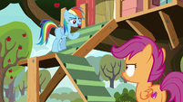 "Rainbow ""rip up all your Washout posters"" S8E20"