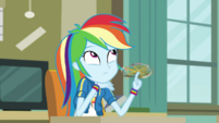 Rainbow Dash thinking of the answer EGDS6