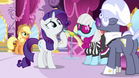 Rarity -I thought she was still making costumes- S7E9