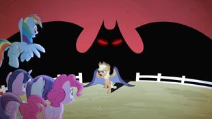 S04E07 Cień niczym Batman!
