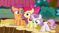 Scootaloo --what'd you think she was gonna be-- S6E19