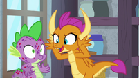 Smolder mentions tatzlwurms and hydras S8E11