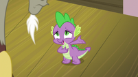 Spike -his incredibly romantic gesture- S8E10