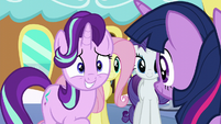 Starlight nervous --uh-huh-- S6E1