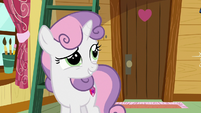 Sweetie Belle predicting Zipporwhill's arrival S7E6