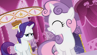 Sweetie Belle smiling S3E06