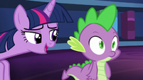 Twilight --I'm sure we can make some time for a claw massage and a back rub too-- S5E22