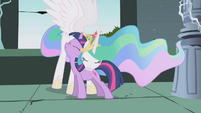 Twilight Celestia Hugs S1E02
