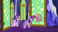 Twilight arrives with a new banishing spell S7E26