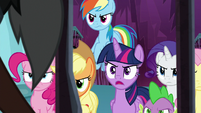 Twilight demands answers from Tirek S8E25