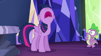 Twilight shouting --I wasn't included!-- S5E22