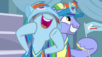 Windy Whistles starts to cheer louder S7E7