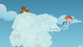 Young Rainbow blows clouds in the Boy Bullies' faces S5E8.png