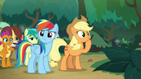 AJ and Rainbow wonder which way to go S8E9