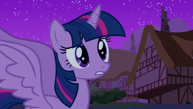 "File:Alicorn Twilight ""what do I do now"" S03E13.png"