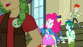 CHS students rushing past Pinkie Pie SS4.png