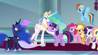 Celestia has confidence in Twilight S9E1