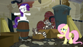 "Fluttershy ""Softpad's mother made them move out of the trashcan"" S6E9.png"