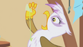Gilda drinking from dribble glass S1E05.png