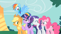 Impressed with Twilight's spell S1E26