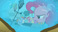 Pinkie Pie in reflection 'Fine!' S2E01