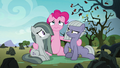Pinkie looking miserable with her sisters S8E3.png