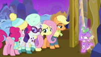 Ponies and Spike disappointed in themselves MLPBGE