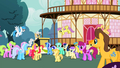 Ponyville Crowd Cheer S2E14.png