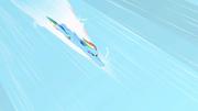 Rainbow Dash before the sonic rainboom S1E16